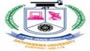 Sathyabama University Chennai