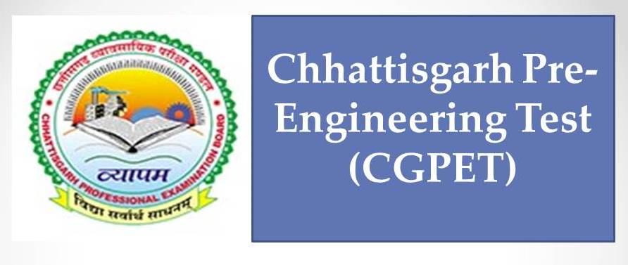 CGPET - Chhattisgarh Pre-Engineering Test