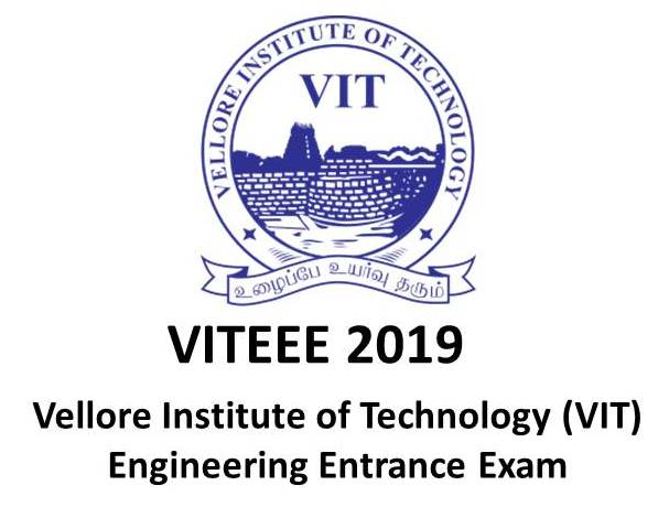 VITEEE 2019 - VIT Engineering Entrance Exam