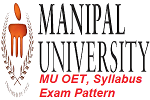 MU OET - MAHE-OET: Manipal Academy Of Higher Education Online Entrance Test