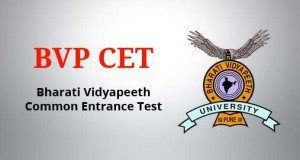 BVP CET - Bharati Vidyapeeth University Common Entrance Test