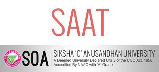 SAAT 2019 - Siksha 'O' Anusandhan University Admission Test