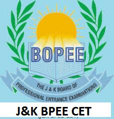 BPEE CET - J&K Board Entrance Examinations