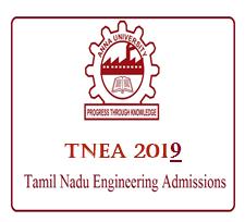ANNA UNIVERSITY TNEA 2019 - Tamil Nadu Engineering Admission