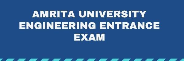 AEEE - Amrita University Engineering Entrance Exam