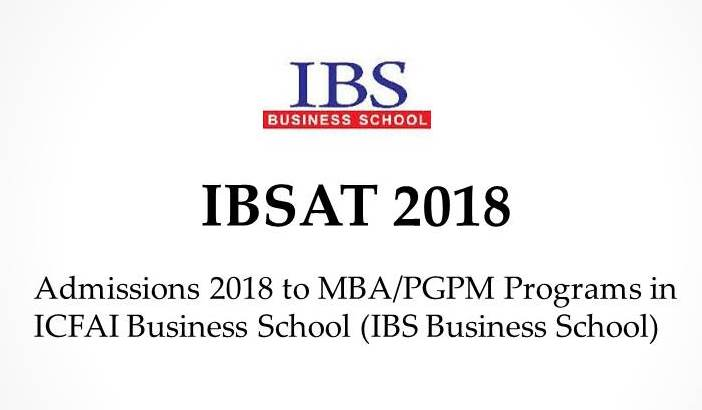 IBSAT - ICFAI Business School Aptitude Test
