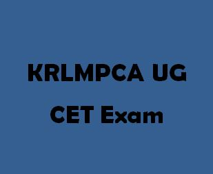 KRLMPCA-UGCET - Karnataka Under Graduate Common Entrance Test