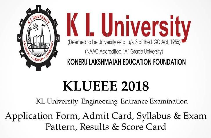 KLUEEE - KL University Engineering Entrance Exam