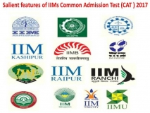 Salient features of IIM CAT 2017 will be conducted on 26th November 2017