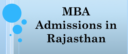 MBA Admissions in Rajasthan