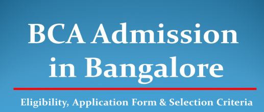 BCA Admission in Bangalore, Karnataka