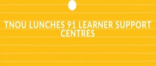 TNOU Lunches 91 Learner Support Centres