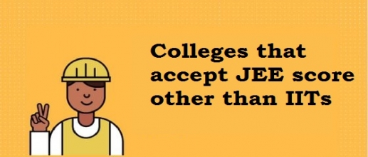 Top colleges list which accept JEE marks other than IITs