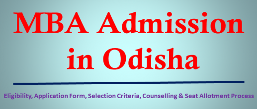 MBA Admission in Odisha