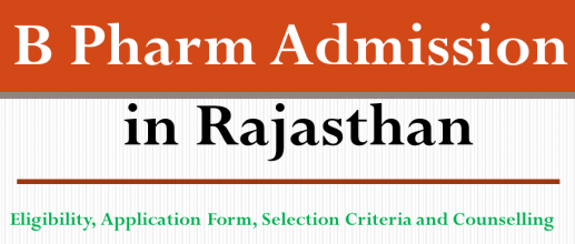 B Pharm Admission in Rajasthan