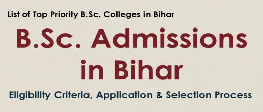B.Sc. Admissions in Bihar