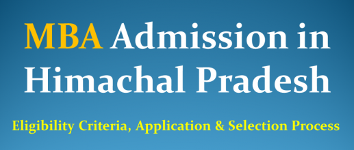 MBA Admission in Himachal Pradesh