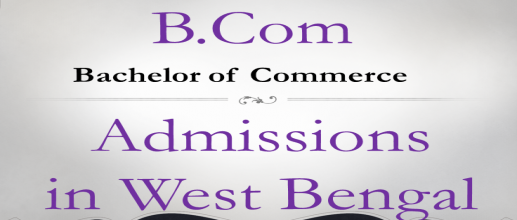 B.Com Admissions in West Bengal