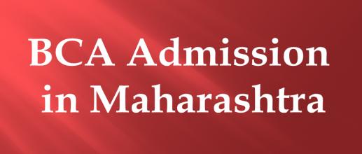 BCA Admission in Maharashtra