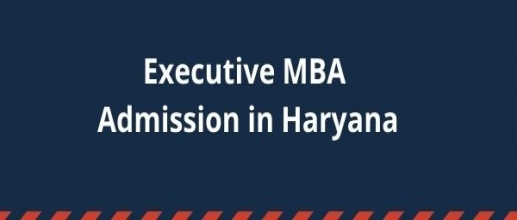 Executive MBA Admission in Haryana