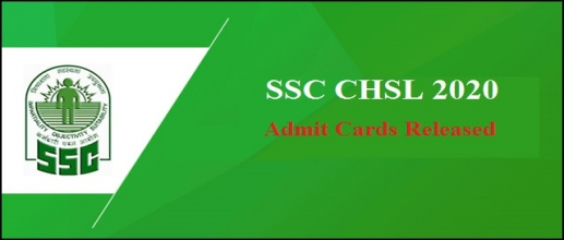 SSC CHSL 2020 Admit Cards Released