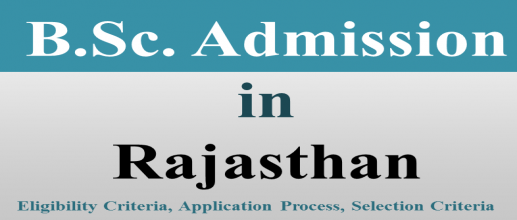 B.Sc. Admission in Rajasthan
