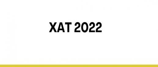 Registration for XAT 2022