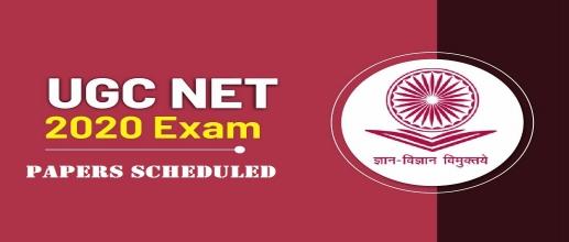 UGC NET 2020 Papers Scheduled