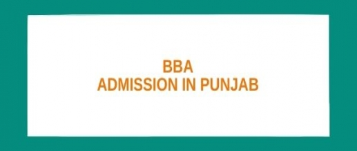 BBA Admission in Punjab