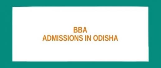 BBA Admissions in Odisha