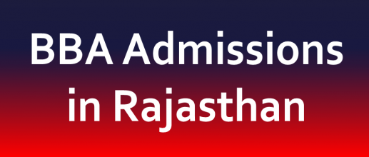 BBA Admissions in Rajasthan