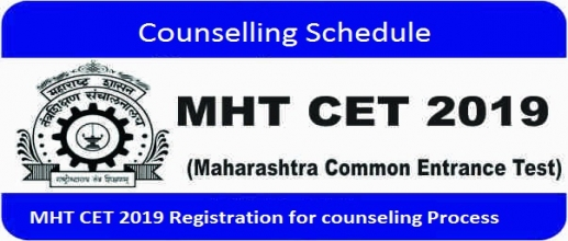 MHT CET Counselling Schedule & Registration Process