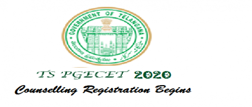 TS PGECET 2020 Counselling Registration Begins