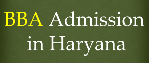 BBA Admission in Haryana