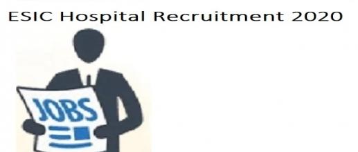 ESIC Mumbai Recruitment 2020