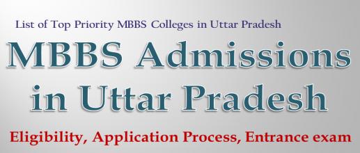 MBBS Admissions in Uttar Pradesh