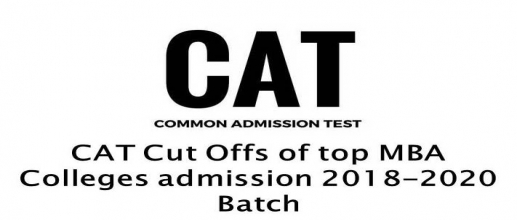 CAT Cut Offs of top MBA Colleges admission 2018