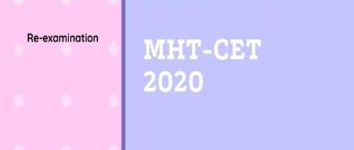 MHT-CET 2020: Re-examination
