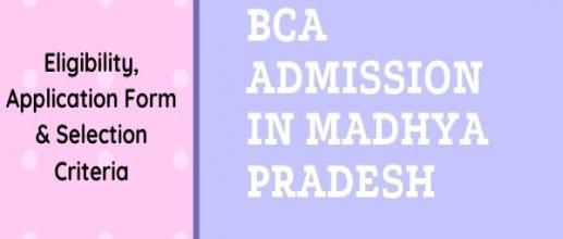 BCA Admission in Madhya Pradesh