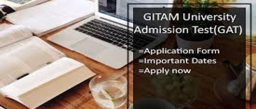 GITAM Admissions: GAT 2018 Application available
