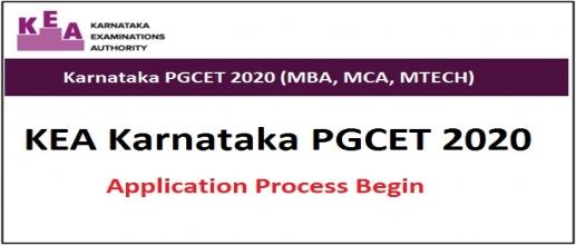 Karnataka PGCET 2020 Registration Process Begins