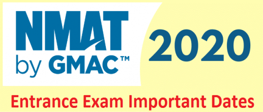 NMAT 2020: GMAC Announced Important Dates
