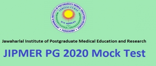 JIPMER PG 2020 Mock test is now available