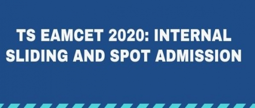 TS EAMCET 2020: Internal Sliding and Spot Admission Guidelines are Released