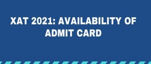 XAT 2021 Availability of Admit Card