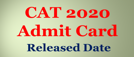 CAT 2020 Admit Card will be released on 28th October