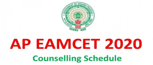 AP EAMCET 2020 Counselling Schedule