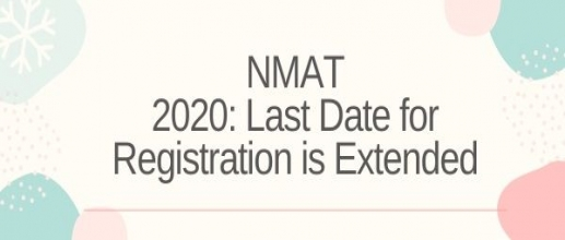 NMAT 2020: Last Date for Registration is Extended