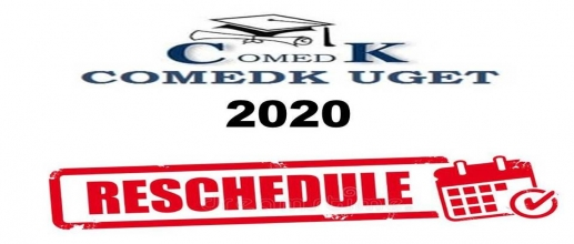 COMEDK UGET 2020 Exam Rescheduled to 1st August