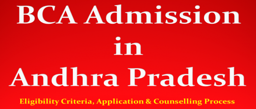 BCA Admission in Andhra Pradesh